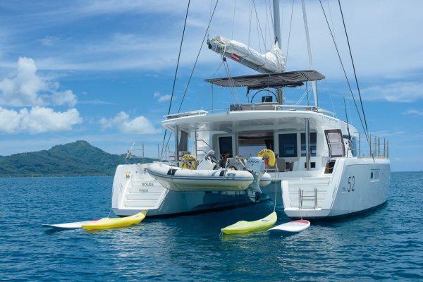 Nautical Escape luxury Catamaran sailing charter
