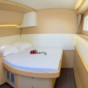 Nautical Escape luxury Catamaran bedroom