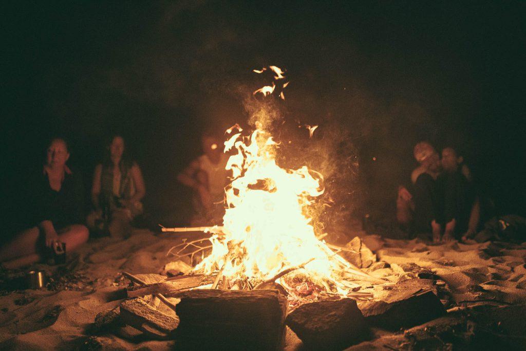 Nautical Escape sailing charter campfire