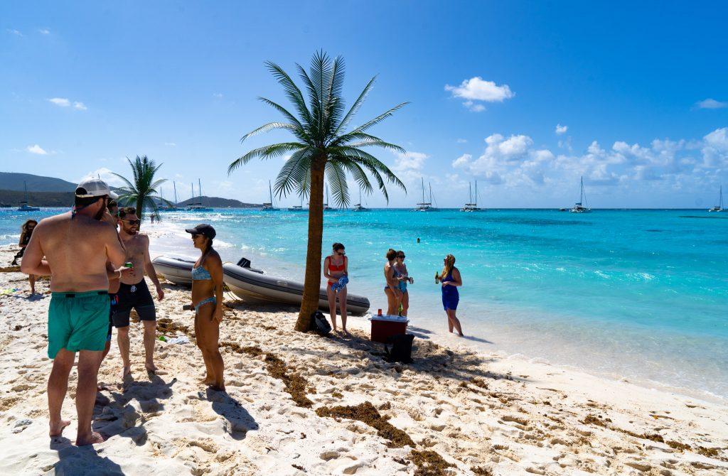 "British Virgin Islands island paradise ""Little necker island"" - Nautical Escape"