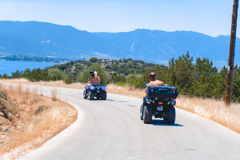 Hop onto a scooter/Quadbike and go exploring - Nautical Escape