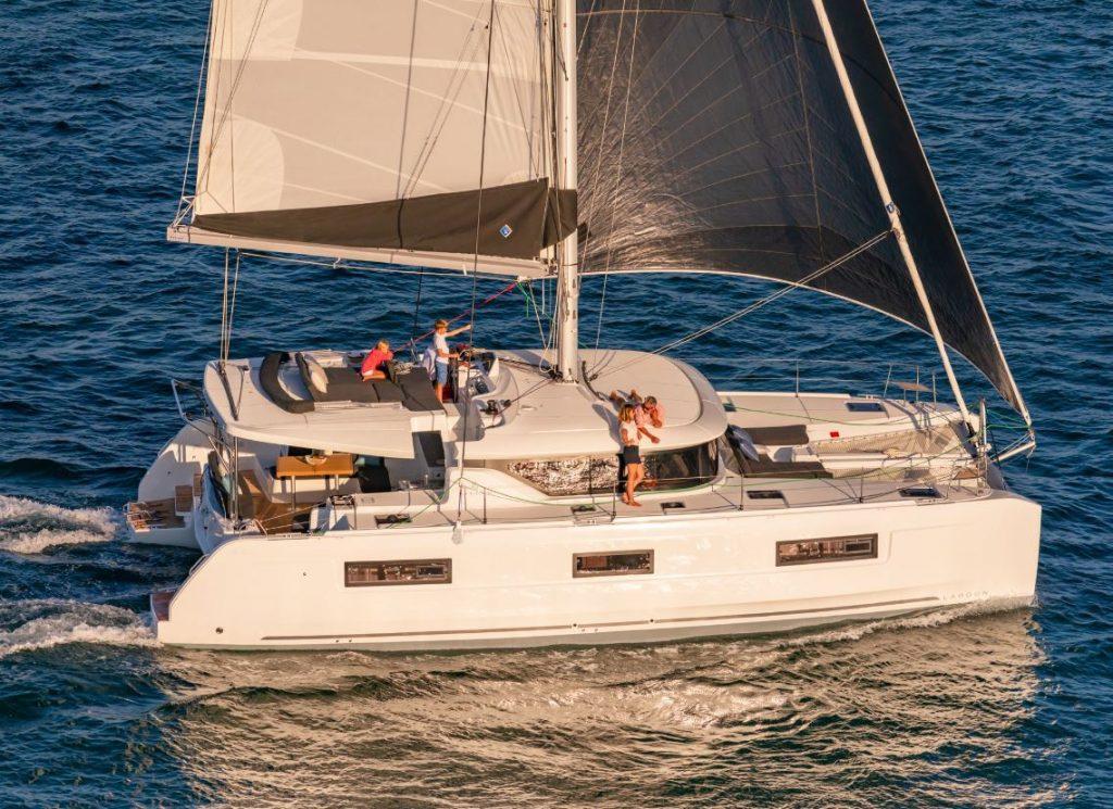 Nautical Escape luxury TYC Lagoon Catamaran sailing charter