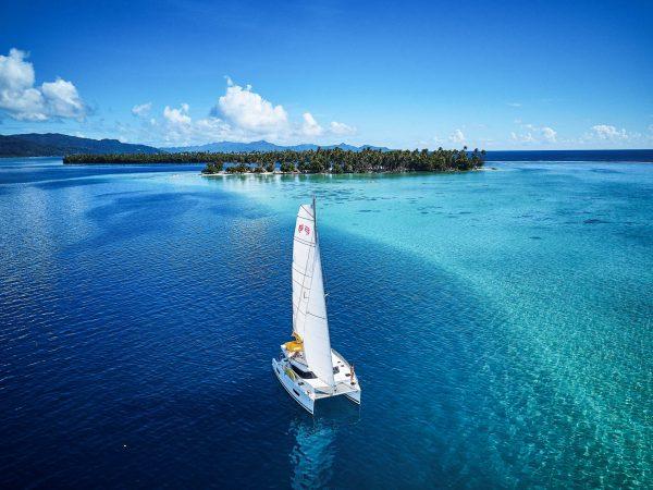 Raiatea Tahiti sailing charter with Nautical Escape