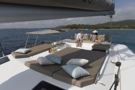 Nautical Escape luxury Saba Catamaran sailing charter