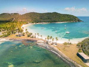 Salt whistle bay (Mayreau island) Saint Vincent and the Grenadines sailing charter with Nautical Escape