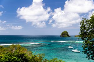 Blue lagoon marina Saint Vincent and the Grenadines sailing charter with Nautical Escape