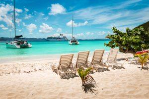 Jost Van Dyke British Virgin Islands sailing charter with Nautical Escape