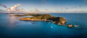 Norman island British Virgin Islands sailing charter with Nautical Escape