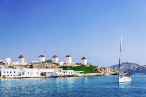 Mykonos Greece sailing charter with Nautical Escape
