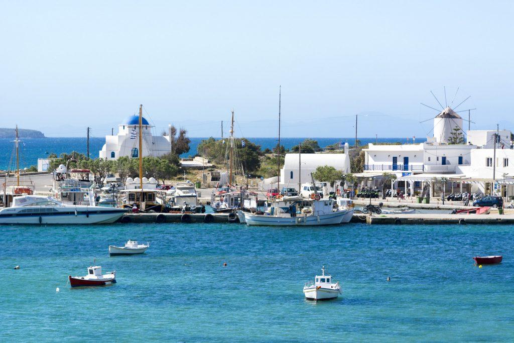 Antiparos Greece sailing charter with Nautical Escape
