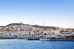 Syros Greece sailing charter with Nautical Escape