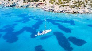 Schoinousa Greece sailing charter with Nautical Escape